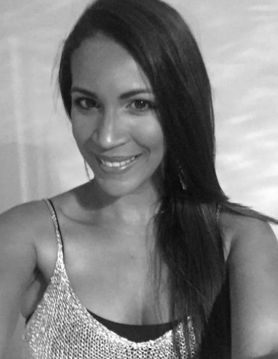 """<b class=""""aboutt1""""> ANNA PAYARES </b> <br> <b class=""""aboutt2""""> PRODUCER & LOCATION MANAGER  </b> <br><br> <b class=""""aboutt3""""> """"Passionate about making things happen."""" </b> <br><br> <b class=""""aboutt4""""> Experience in finding the perfect place, the right spot! </b> <br> <b class=""""aboutt5""""> """"Love the excitement and the adrenalin rush I get when I hear the countdown, all the way up till the action is finally yelled, it gives me the feeling of longing for days with no beginning or end"""".  </b>"""